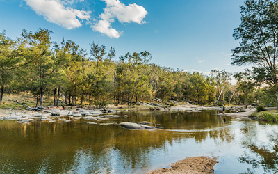 warrabah national park